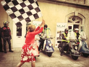Mary Kennedy launches the All Ireland Vintage Bike Gathering