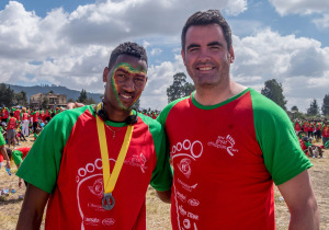 Paul Durcan completed the 2014 Great Ethiopia Run in Addis Ababa.