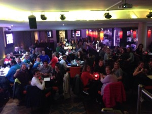 Good night had by all at the VLM Quiz in The Church Café Bar, Dublin 1