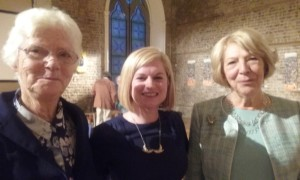 Sr Margaret Coyne DC, Mary Anne Stokes and Mrs Sabina Higgins.